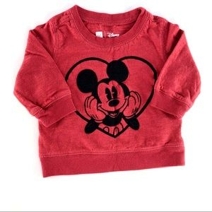 Disney Mickey Mouse light sweater